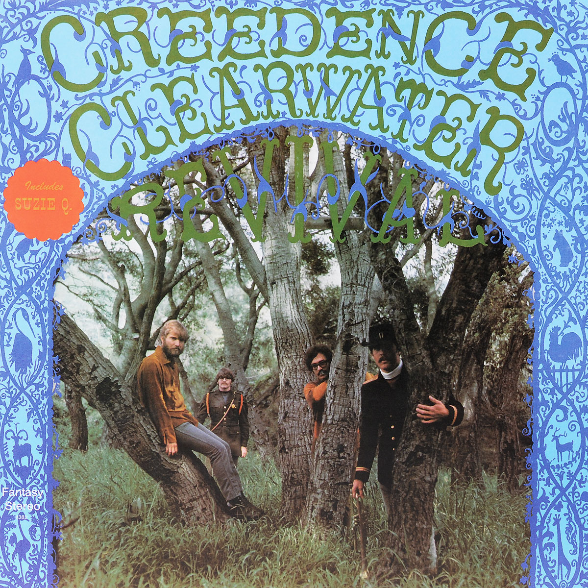 Creedence Clearwater Revival Creedence Clearwater Revival. Creedence Clearwater Revival (LP)