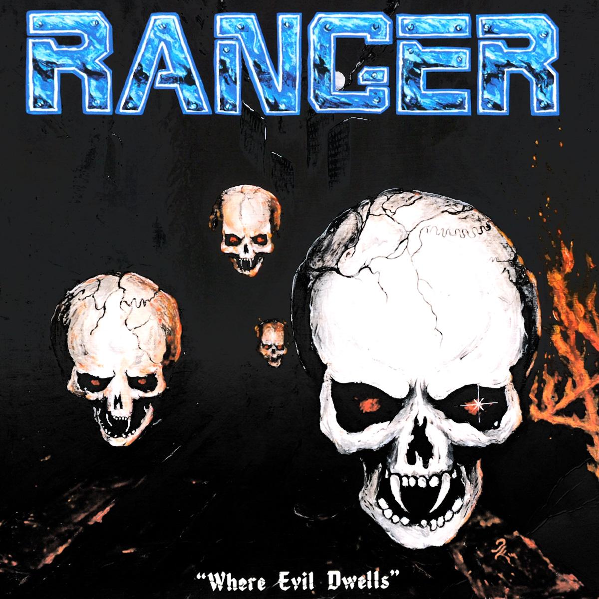 Ranger Ranger. Where Evil Dwells (LP)