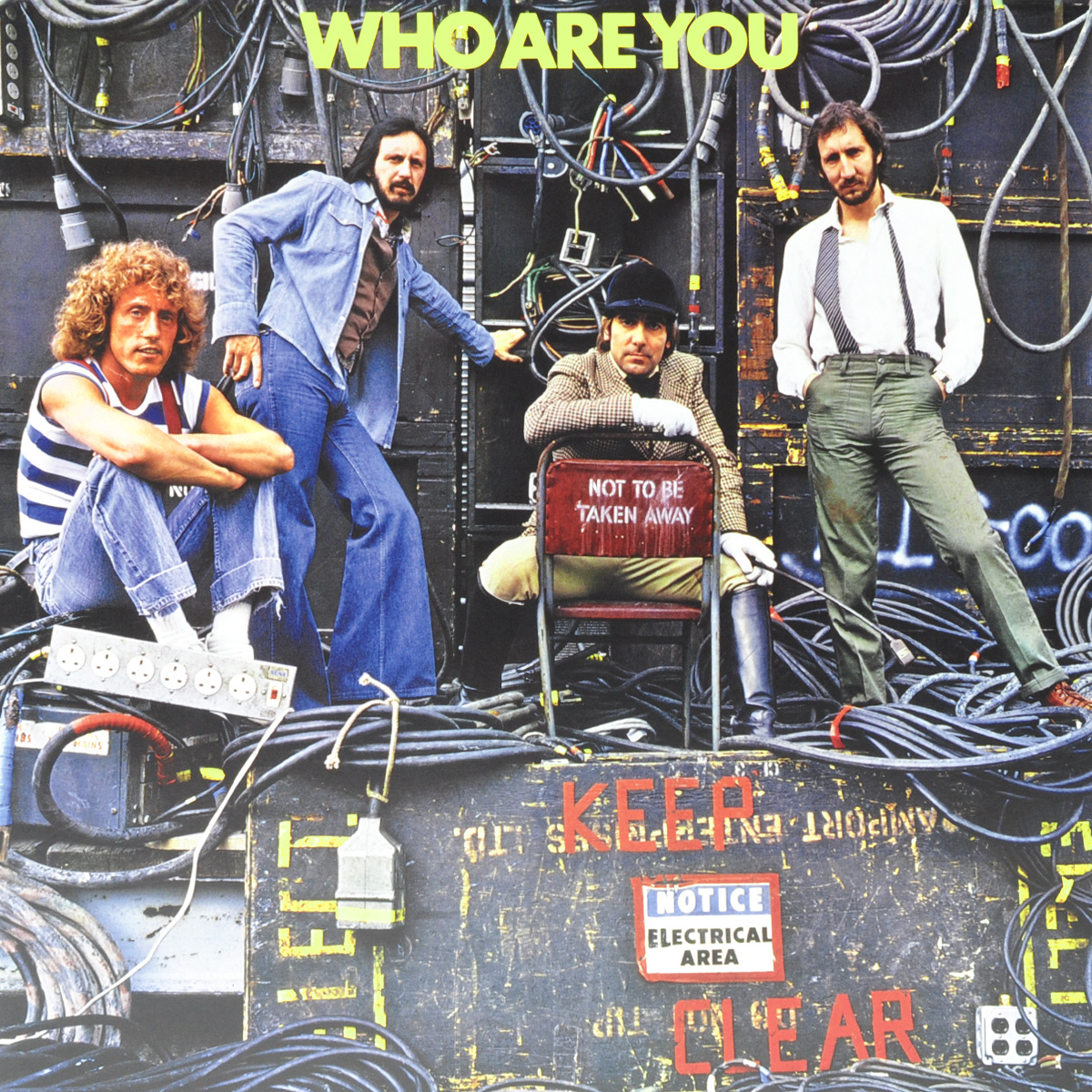 The Who The Who. Who Are You (LP) the who the who it s hard lp