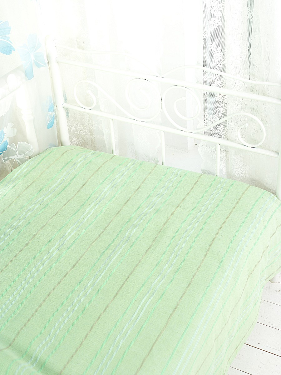 Покрывало Arloni Стокгольм, цвет: фисташка, 200 х 240 см1004900000360Покрывало Arloni Стокгольм прекрасно оформит интерьер гостиной или спальни. Изготовлено из экологически чистого материала - 100% хлопка, поэтому подходит как для взрослых, так и для детей. Натуральные краски абсолютно гипоаллергенны. Покрывало однотонное, оформлено вышивкой в виде разноцветных полосок. Хорошо смотрится и на диване, и на большой кровати. Покрывало Arloni не только подарит тепло, но и гармонично впишется в интерьер вашего дома.