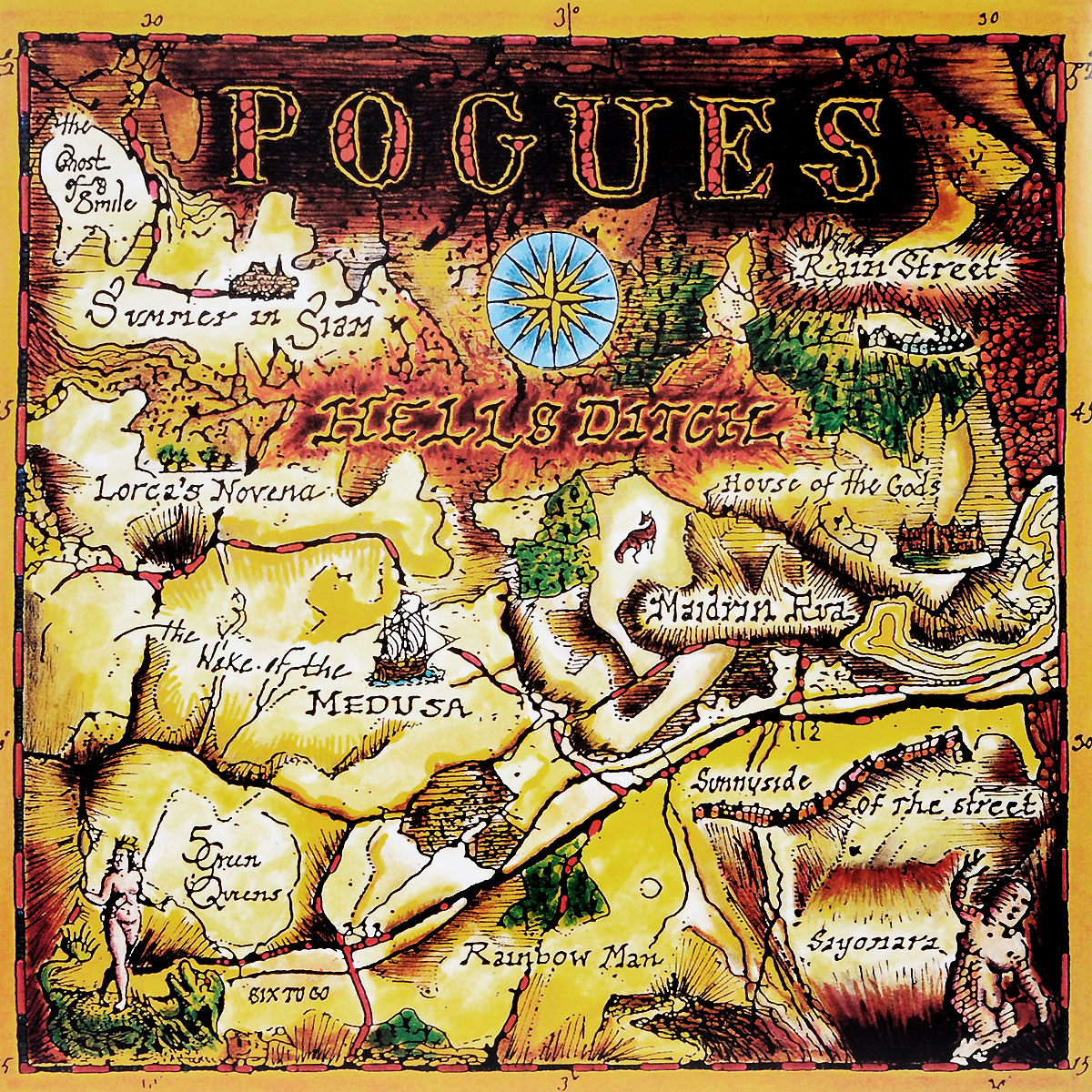 the pogues peace and love lp The Pogues Pogues. Hell's Ditch (LP)