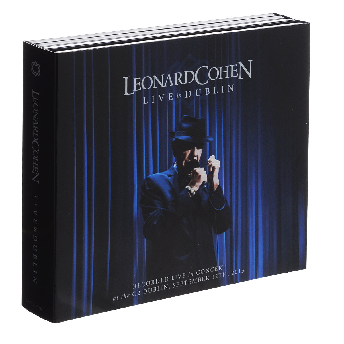 Леонард Коэн Leonard Cohen. Live In Dublin (3 CD + DVD) yes yes in the present live from lyon 2 cd dvd