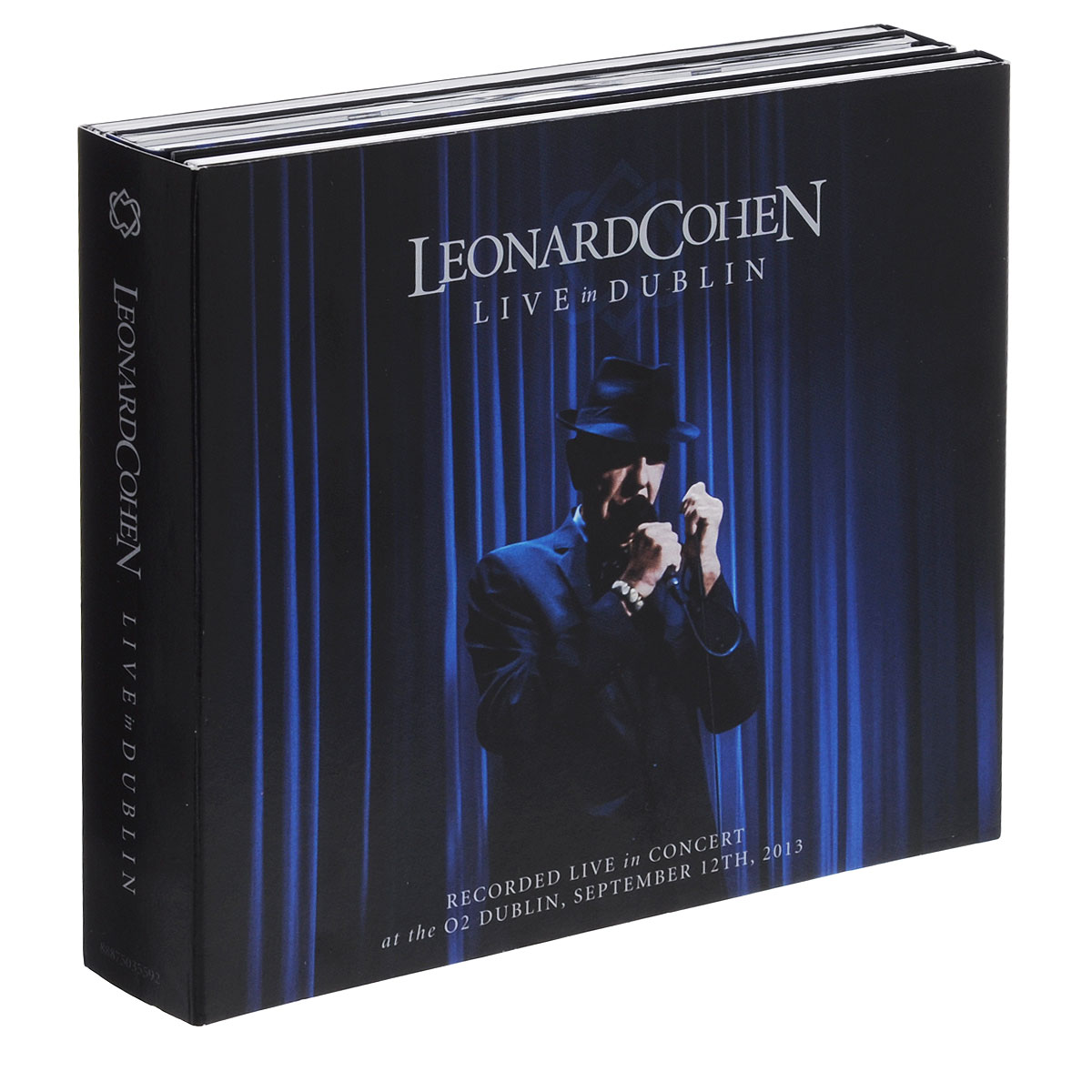 Леонард Коэн Leonard Cohen. Live In Dublin (3 CD + Blu-ray) cicero sings sinatra live in hamburg blu ray
