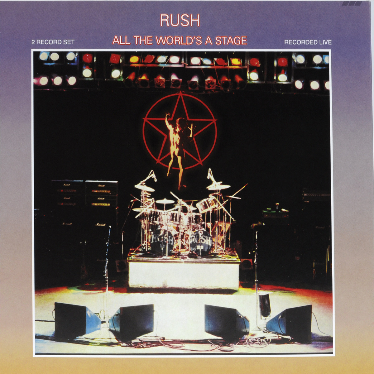 Rush Rush. All The World's A Stage (2 LP) rush rush moving pictures lp