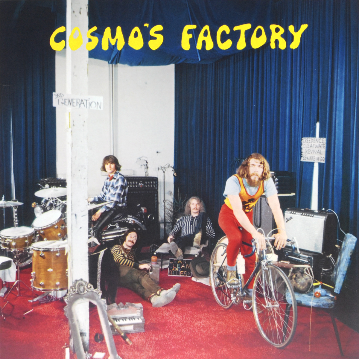 Creedence Clearwater Revival Creedence Clearwater Revival. Cosmo's Factory (LP) вешала clearwater home