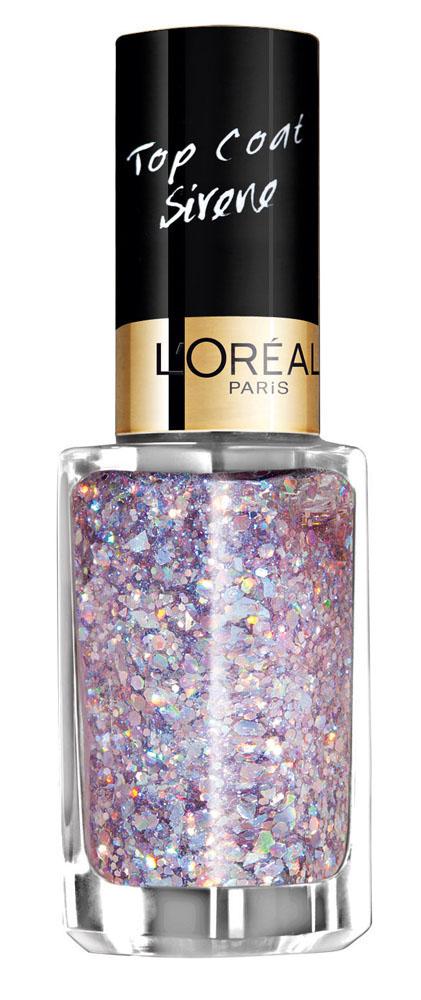 LOreal Paris Верхнее покрытие для ногтей Color Riche, Top Coat, оттенок 938, Поцелуй в воде, 5 мл5010777142037Верхнее покрытие Color Riche – самый последний тренд в области маникюра. С помощью уникальной коллекции эффектов, от золотой россыпи каратов до элегантных твидовых покрытий, теперь возможно придать ногтям совершенно новый, роскошный вид.