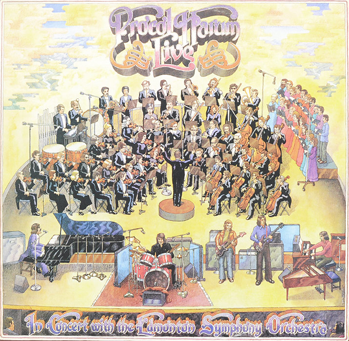 Procol Harum Procol Harum. Live in Concert with the Edmonton Symphony Orchesa (2 LP) procol harum procol harum live in concert with the edmonton symphony 2 lp colour