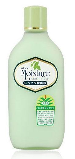 "Utena Увлажняющий лосьон-молочко ""Moisture"" для лица с экстрактом алоэ 155мл"