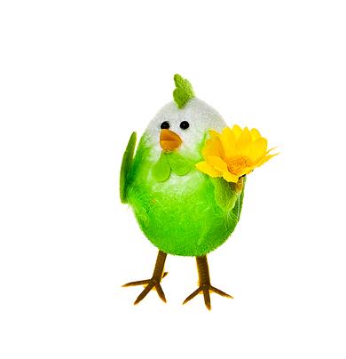 Декоративное украшение Home Queen Приветливый цыпленок, цвет: зеленый, 7 см х 4,5 см х 10 смNLED-454-9W-BKДекоративное украшение Home Queen Приветливый цыпленок изготовлено из пера, полиэстера и пластика. Украшение выполнено в виде милого цыпленка.Такое украшение прекрасно оформит интерьер дома или станет замечательным подарком для друзей и близких на Пасху.