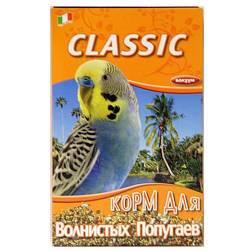 Корм Fiory Classic для волнистых попугаев, 800 г корм вака люкс для крупных попугаев 800 гр