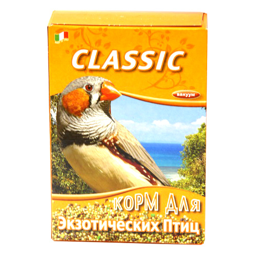 Корм Fiory Classic для экзотических птиц, 400 г корм для кроликов fiory karaote 850 г
