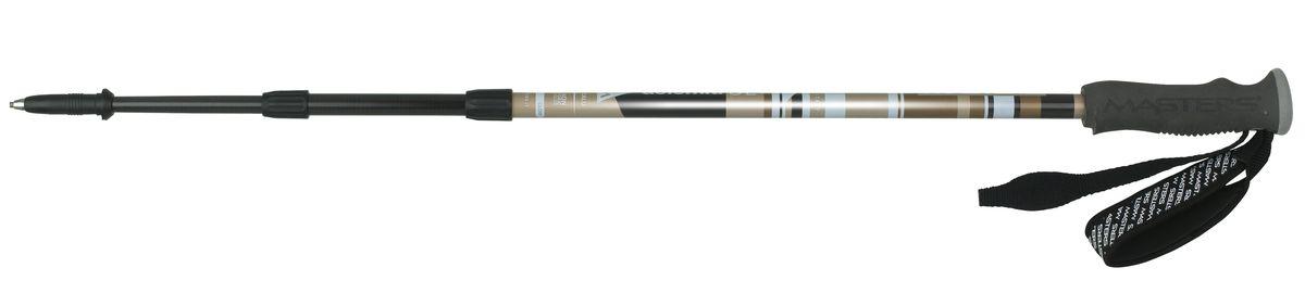 Палки для трекинга Masters Dolomiti SL, телескопические, 65-135 см06/4/07Masters Dolomiti SL - телескопические трекинговые палки, отличающиеся инновационной технологией CALU, основанной на комбинировании композитных материалов, таких как алюминий и карбон. Эта технология позволяет достичь высокой прочности и легкого веса. Удобная и надежная система секционной блокировки BS Blocking System, разработанная по цанговому принципу. Разработаны для длительных походов и восхождений, требующих минимально веса и надежного снаряжения. Имеют профессиональную рукоятку Pro Foam из пеноматериалов с влагоотводящим эффектом, что позволяет произвести максимально комфортный хват. Эргономичный регулируемый темляк. При весе всего в 180 г используется технология CALU, обеспечивающая легкость, упругость и прочность. Палки телескопические состоят из 3 секций для удобства транспортировки на рюкзаке или ином снаряжении. На двух нижних секциях расположена метрическая разметка для быстрой и точной регулировки длины палки под рост. Наконечник карбидовый, для высокого сцепления, вплоть до гладких каменных пород. Сменные кольца быстро и надежно крепятся с использованием технологии Screw System. Поверхность секций отличается высокой степенью полировки и многослойной покраской. Используются только нетоксичные краски. Диапазон регулируемой высоты под рост составляет 65-135 см. Все пластиковые детали выполнены ведущим мировым производителем - компанией DuPont. Детали отличаются особыми износостойкими характеристиками и выдерживают эксплуатацию в условиях экстремальных температур от -50°С до +40°С.Технологии:CALU - композитная технология основанная на алюминии и карбоне.65-135 - Шаблон моделирования высоты, универсальный рост.PRO FOAM - Профессиональная рукоятка из пеноматериалов.BS (Blocking System) - Надёжная и удобная система секционной блокировки, основанная на цанговом принципе.блокировки, основанной на принципе клипсы.SCREW SYSTEM - Удобная система навинчивающихся сменных насадок.CARBIDE TIP - С