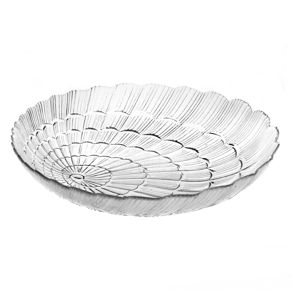 Набор тарелок Pasabahce Atlantis, диаметр 21 см, 6 штFS-91909Набор Pasabahce Atlantis состоит из шести тарелок, выполненных из высококачественного закаленного стекла. Они имеют оригинальную форму и декорированы рельефным узором. Тарелки прекрасно подойдут для красивой сервировки различных блюд. Оригинальность оформления тарелок придется по вкусу и ценителям классики, и тем, кто предпочитает утонченность и изящность. Набор тарелок Atlantis станет украшением вашего стола и послужит отличным подарком к любому празднику. Диаметр тарелки: 21 см. Высота тарелки: 4 см.