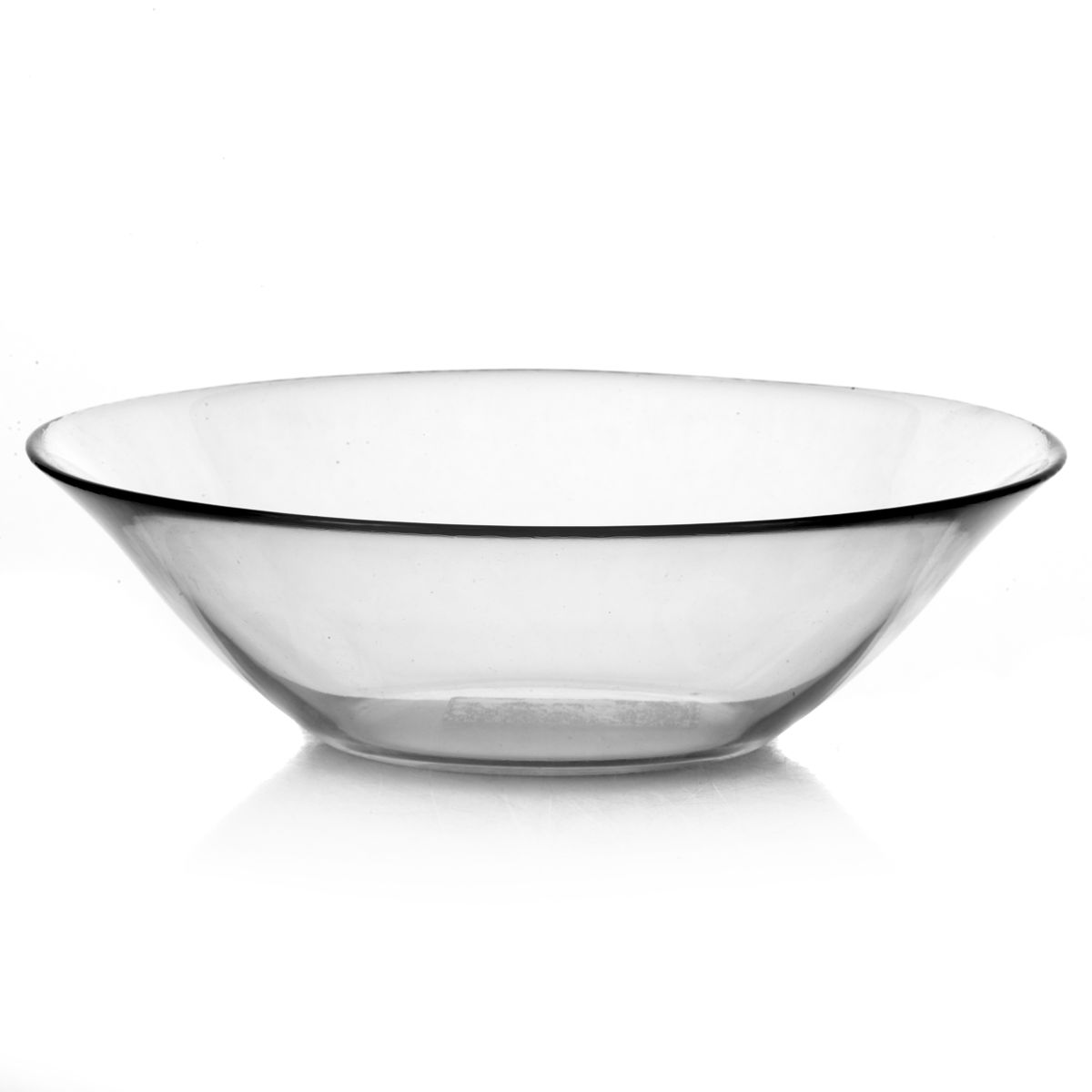 Салатник Pasabahce Invitation, диаметр 22,5 см45007Салатник Pasabahce Invitation, выполненный из прозрачного высококачественного натрий-кальций-силикатного стекла, предназначен для красивой сервировки различных блюд. Салатник сочетает в себе лаконичный дизайн с максимальной функциональностью. Оригинальность оформления придется по вкусу и ценителям классики, и тем, кто предпочитает утонченность и изящность.Можно использовать в холодильной камере, микроволновой печи и мыть в посудомоечной машине. Диаметр салатника: 22,5 см.Высота салатника: 7 см.