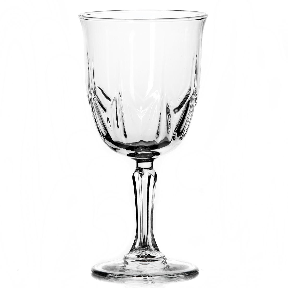 Набор бокалов Pasabahce Karat, 335 мл, 6 штVT-1520(SR)Набор Pasabahce Karat состоит из шести бокалов, выполненных из прочного натрий-кальций-силикатного стекла. Изделия оснащены рельефной поверхностью и фигурной ножкой. Бокалы сочетают в себе элегантный дизайн и функциональность. Благодаря такому набору пить напитки будет еще вкуснее.Набор бокалов Pasabahce Karat прекрасно оформит праздничный стол и создаст приятную атмосферу за романтическим ужином. Такой набор также станет хорошим подарком к любому случаю. Можно мыть в посудомоечной машине.Диаметр бокала (по верхнему краю): 8,5 см. Высота бокала: 18 см.