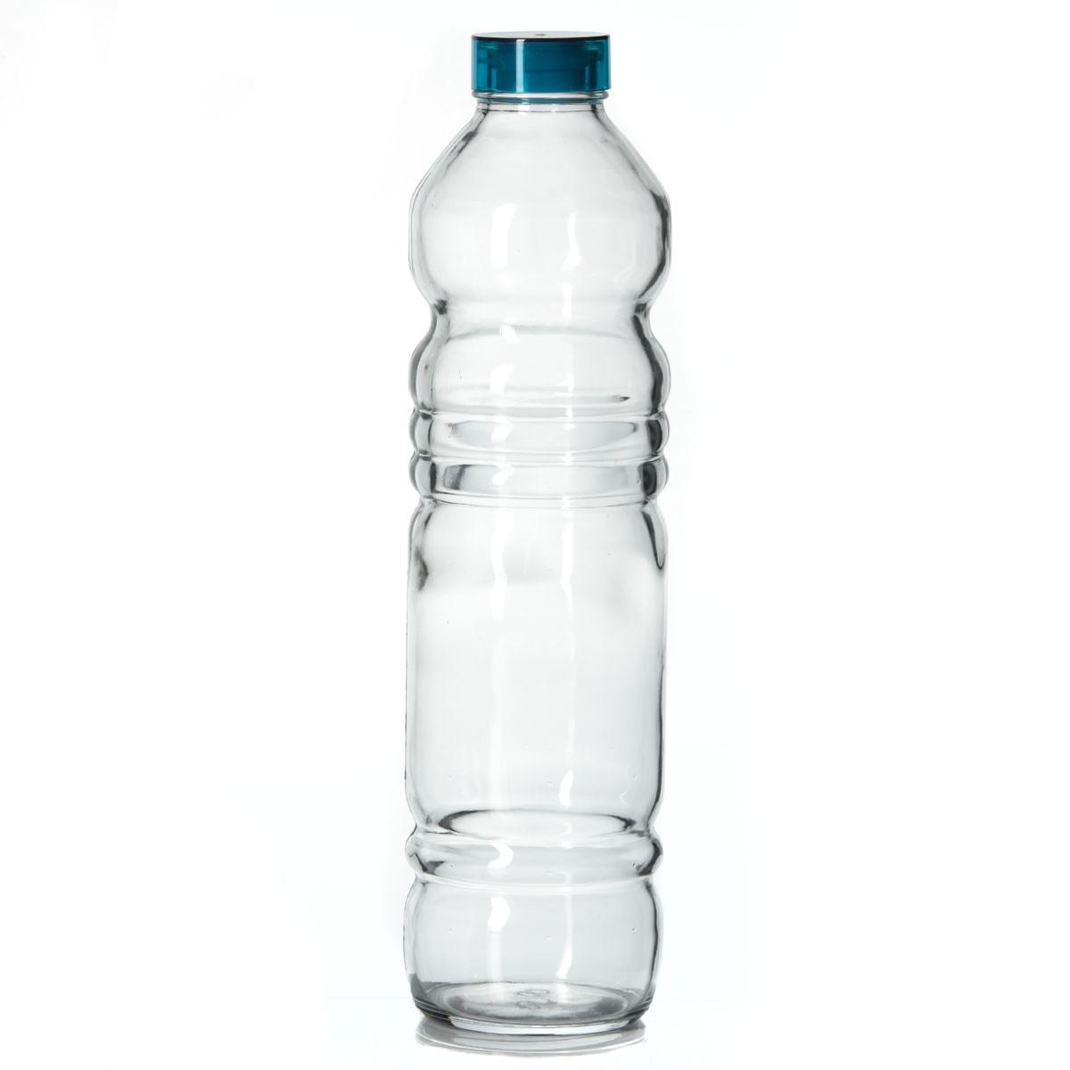 Бутылка Pasabahce Vita, 1100 мл66782001Бутылка Pasabahce Vita, изготовленная из стекла, предназначена для пищевых жидкостей. Бутылка оснащена пластмассовой крышкой с силиконовым уплотнительным кольцом внутри для герметичности. Изделие красиво переливается и излучает приятный блеск. Изящная форма и необычный дизайн сделают ее украшением вашего кухонного стола.Можно мыть в посудомоечной машине.Высота бутылки: 31 см.Диаметр дна: 7,5 см. Диаметр бутылки (по верхнему краю): 3,5 см.Объем: 1100 мл.