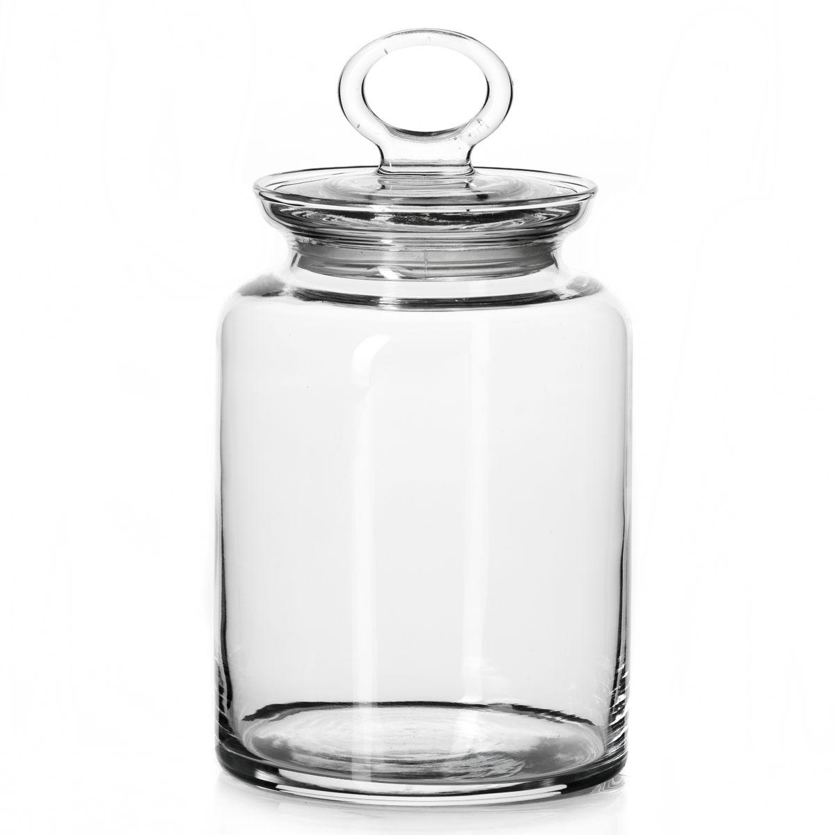 Банка для сыпучих продуктов Pasabahce Kitchen с крышкой, 1,5 лВетерок-2 У_6 поддоновБанка Pasabahce Kitchen выполнена из прочного натрий-кальций-силикатного стекла. Банка оснащена крышкой с ручкой-кольцом и силиконовой вставкой, обеспечивающей плотное прилегание крышки. В такой банке удобно хранить, крупы, макароны, печенье и многое другое. Функциональная и практичная, такая банка станет незаменимым аксессуаром на вашей кухне.Объем банки: 1,5 л.Диаметр банки по верхнему краю: 9,5 см.Высота банки (без учета крышки): 17,5 см.Диаметр основания: 11,5 см.