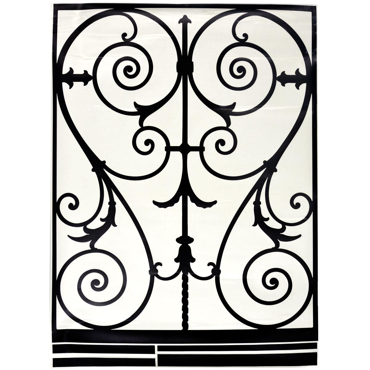 Стикер Paris-Paris Перила в стиле барокко, 90 х 132 см300148_бирюзовыйДобавьте оригинальность вашему интерьеру с помощью необычного стикера Paris-Paris Перила в стиле барокко. Оригинальное исполнение добавит изысканности в дизайн. Необыкновенный всплеск эмоций в дизайнерском решении создаст утонченную и изысканную атмосферу не только спальни, гостиной или детской комнаты, но и даже офиса. Стикер выполнен из матового винила - тонкого эластичного материала, который хорошо прилегает к любым гладким и чистым поверхностям, легко моется и держится до семи лет, не оставляя следов. Идеи французских дизайнеров украсят любой интерьер. Размер стикера (ВхШ): 90 см х 132 см.