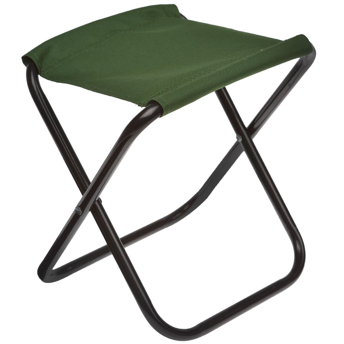 Стул складной Happy Camper, цвет: зеленыйУТ-000049531Складной стул Happy Camper станет незаменимым предметом в походе, на природе, на рыбалке, а также на даче. Изготовлен из ткани Оксфорд 600D с покрытием из ПВХ. Каркас выполнен из стали. Выдерживает нагрузку в 60 кг.