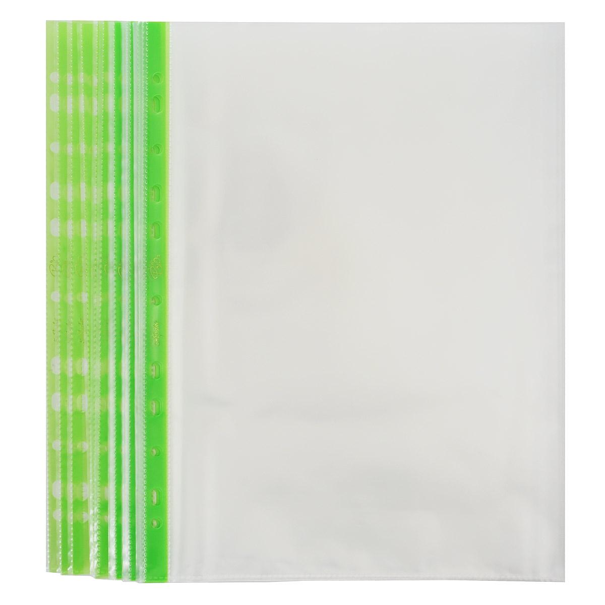 """Прозрачный файл-вкладыш """"Snopake"""" изготовлен из высококачественного полипропилена и отлично подойдет для подшивки документов в архивные папки без перфорирования дыроколом. Прозрачный файл обеспечит сохранность листов, надежно защищая документы от пыли и повреждений. Универсальная перфорация совместима с любыми видами архивных папок. Комплект включает в себя 25 файлов-вкладышей."""
