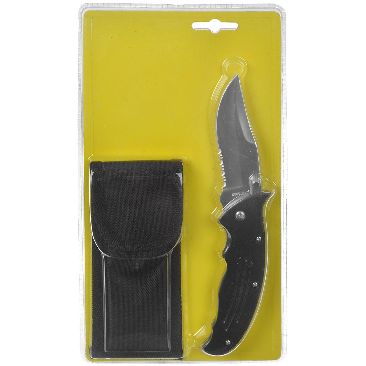 Складной нож Campland, длина лезвия 8,5 смH-214 НожемирКомпактный и легкий складной нож Campland станет надежным помощником даже в самой сложной экспедиции. Рукоять выполнена из пластика. Для изготовления ножа применяется высококачественная инструментальная нержавеющая сталь. Характеристики:Материал: пластик, металл. Размеры:длина лезвия - 8,5 см,общая длина (включая ручку) - 20 см,толщина лезвия - 0,3 см. Размер упаковки: 26 см х 15 см х 3 см. Артикул: CAMN8.