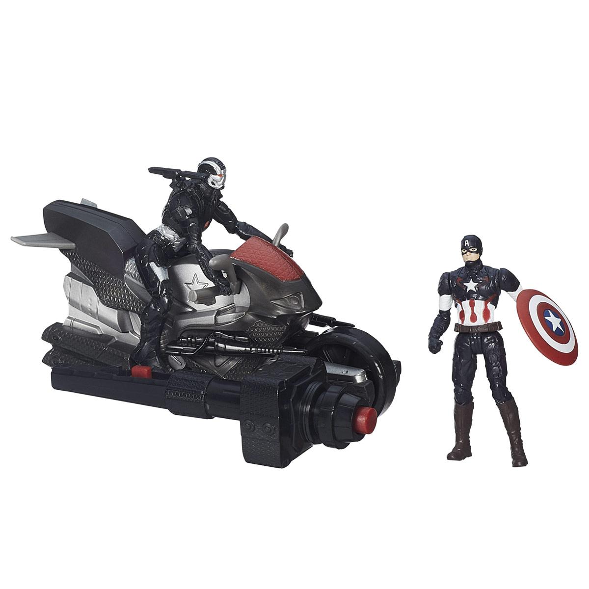 Игровой набор Avengers Captain America & Marvels War Machine