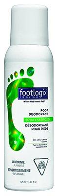 Footlogix Дезодорант для ног с антибактериальным эффектом, 125 млFS-00897Дезодорант нейтрализует неприятные запахи, экстракт мяты охлаждает кожу и оставляет освежающий аромат. Экстракт чайного дерева защищает ноги от грибковых заболеваний. Гигиенический дозатор предотвращает попадание воздуха в продукт, что позволяет продлить срок хранения. Идеален для спортсменов и людей, которые носят обувь из недышащего материала.