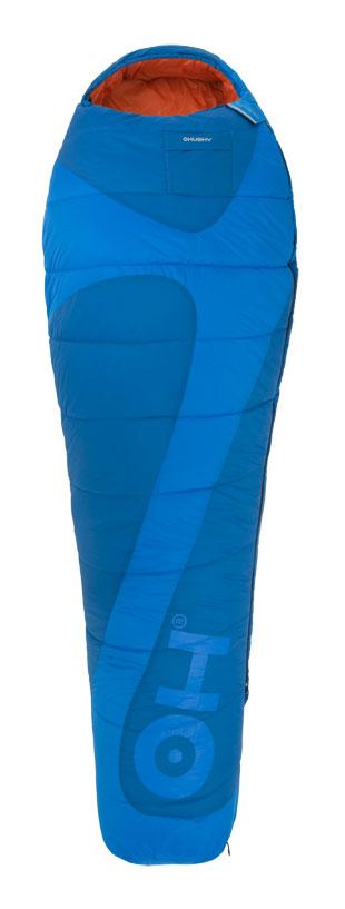 Спальный мешок Husky Montello, правосторонняя молния, цвет: голубой010-01199-23Спальный мешок для трех сезонов. В качестве утеплителя использован Hollowfibre - полиэстер с четырьмя каналами с максимальной пушистостью (LOFT), который не поглощает никакой влажности. Для водных туристов, рафтеров спальник всегда надежно защищен от намокания благодаря гермомешку, который входит в комплект.Возможно состегивание мешков между собой.Наружный материал: Нейлон Taffeta 70D 190T.Внутренний материал: Нейлон soft.Утеплитель: волокно Hollowfibre 2 слоя по 170 гр/м.кв.