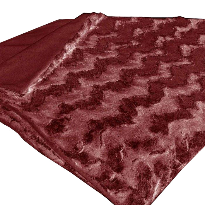 Плед Schaefer, цвет: красный, 150 см х 200 см плед из микрофибры минни маус shopping цвет красный 150 см х 200 см