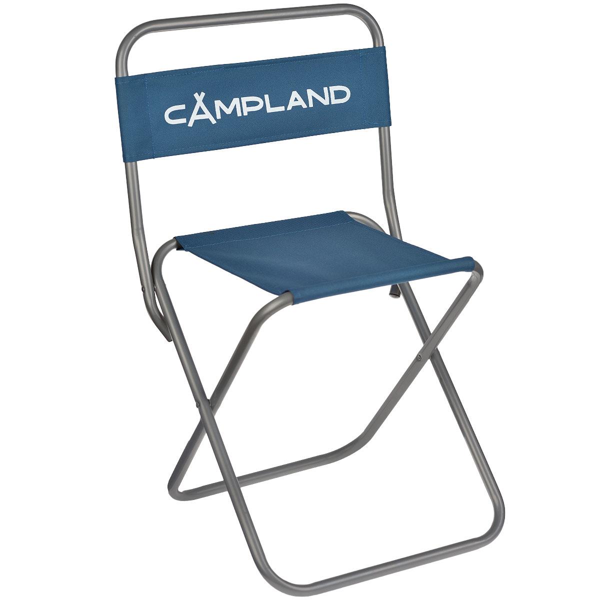 Стул рыбака складной CamplandBC009-7Складной стул Campland станет незаменимым предметом в походе, на природе, на рыбалке, а также на даче.Стул имеет прочный металлический каркас и сидение из плотного материала. Стул легко собирается и разбирается и не занимает много места, поэтому подходит для транспортировки и хранения дома. Характеристики:Материал: сталь, полиэстер. Размер стула: 50 см х 46 см х 49 см. Мах нагрузка: 110 кг. Размер упаковки: 56 см х 44 см х 6 см. Артикул: BC009-7.