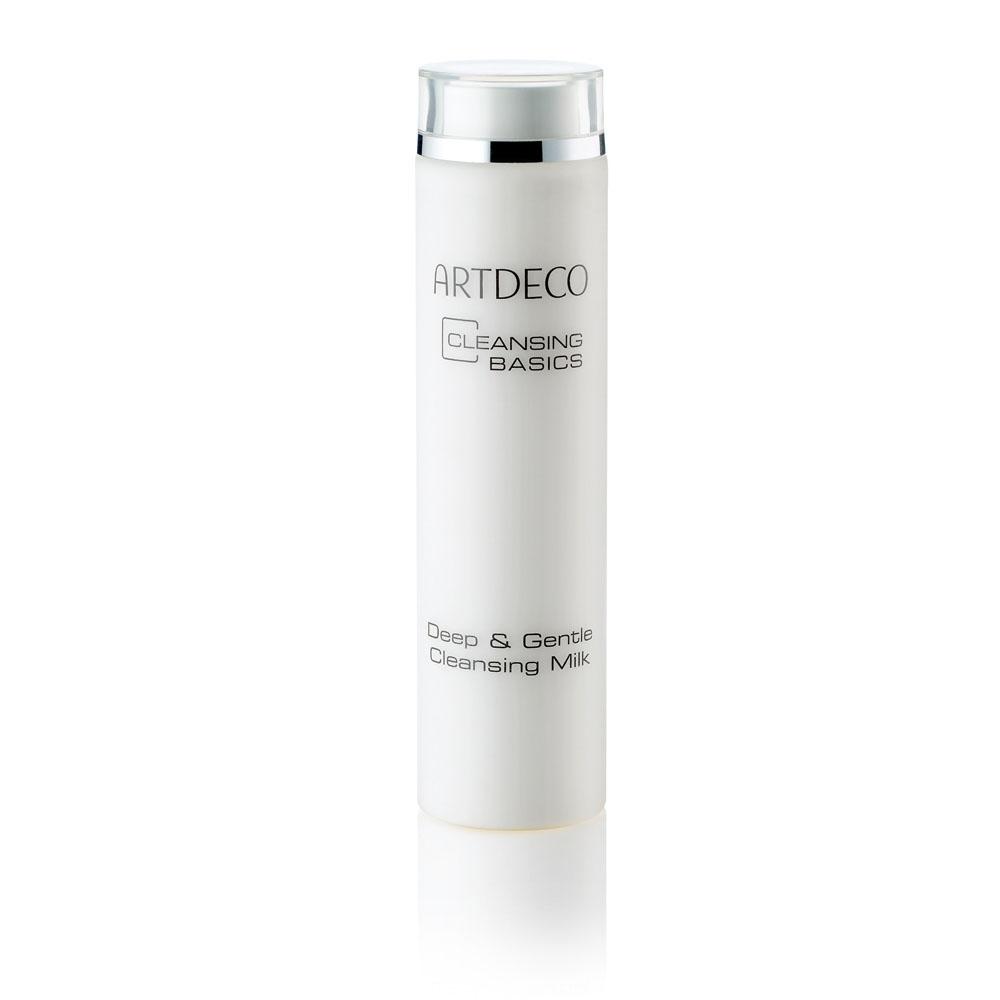 ARTDECO Молочко для умывания Pure Minerals Deep & Gentle Cleansing Milk, 200 млAC-2233_серыйОчищающее молочко Cleansing Milk мягко и бережно очищает кожу. Ценные растительные экстракты, такие как экстракт белой лилии, оказывают успокаивающее и противовоспалительное действие. Молочко также мягко удаляет макияж и оставляет на коже ощущение гладкости.