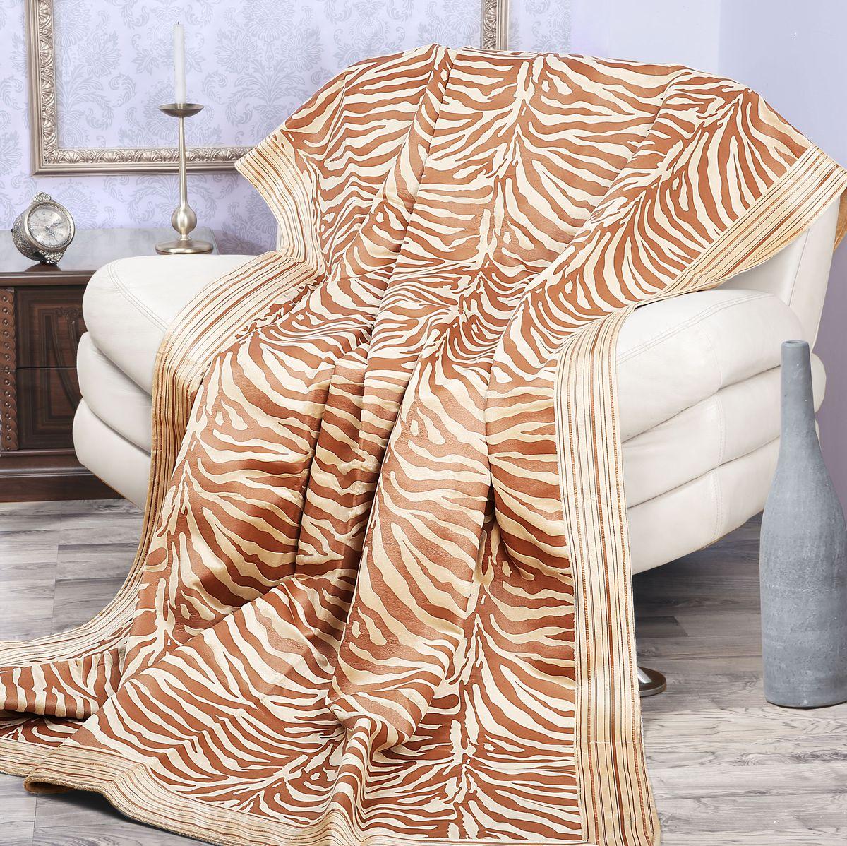 Покрывало Mona Liza Elite Indigo, цвет: бежевый, коричневый, 180 см х 220 см98299571Роскошное покрывало Mona Liza Elite Indigo из высококачественного полиэстера гармонично впишется в интерьер вашего дома и создаст атмосферу уюта и комфорта. Такое покрывало согреет в прохладную погоду и будет превосходно дополнять интерьер вашей спальни. Высочайшее качество материала гарантирует безопасность не только взрослых, но и самых маленьких членов семьи. Небольшой ворс придает покрывалу мягкость и оригинальность. Покрывало может подчеркнуть любой стиль интерьера, задать ему нужный тон - от игривого до ностальгического. Покрывало - это такой подарок, который будет всегда актуален, особенно для ваших родных и близких, ведь вы дарите им частичку своего тепла! Покрывала серии Mona Liza Elite выполнены из шенилловой ткани деворе - при выжигании части волокон образуется характерный рельефный рисунок.