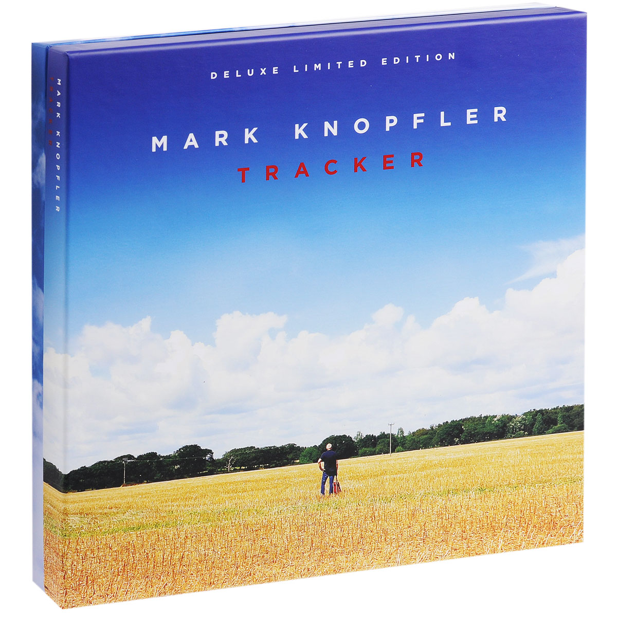 Марк Нопфлер Mark Knopfler. Tracker. Deluxe Limited Edition (2 CD + DVD + 2 LP) men