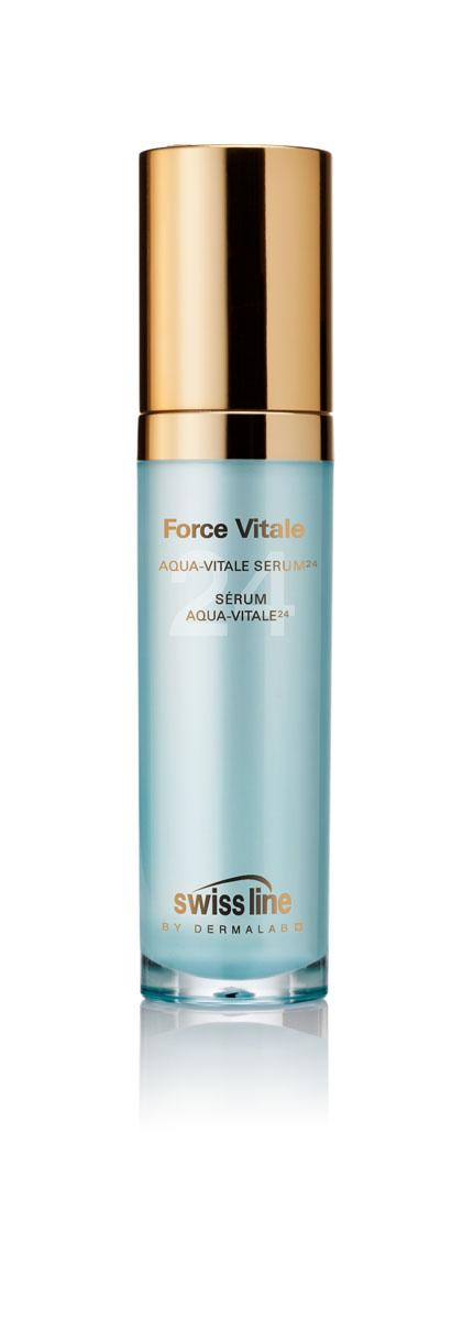 Swiss Line Force Vitale Сыворотка для лица Живая вода 24, 30 млFS-00897Интенсивная сыворотка для глубокого увлажнения и активного восстановления кожи. Содержит 24(!) активных ингредиента, среди которых питательные, увлажняющие, восстанавливающие компоненты, витамины и антиоксиданты. Сыворотка обеспечивает интенсивный уход, тонизацию и увлажнение кожи, улучшает качество макияжа и предотвращает шелушение обезвоженной кожи, замедляет ее преждевременное старение.