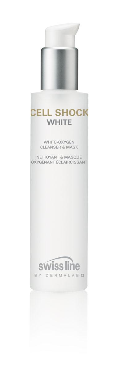 Swiss Line Cell Shock White Маска для лица очищающая и выравнивающая тон кожи, 150 млFS-54102Средство глубоко очищает кожу снаружи и изнутри, удаляет макияж, устраняет загрязнения от городского смога и выводит токсины. Средство выполняет функцию маски и средства для умывания.РЕКОМЕНДУЕТСЯДля кожи с пигментацией, веснушками. При чувствительной коже использовать толькокак очищающее средство.