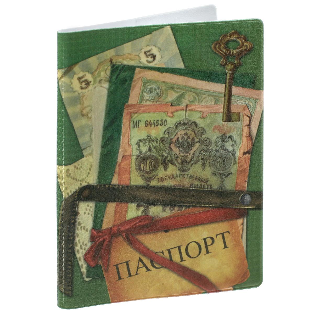 Обложка для паспорта Банкноты, цвет: зеленый. 37710450/8_коричневыйОбложка для паспорта Банкноты не только поможет сохранить внешний вид ваших документов и защитить их от повреждений, но и станет стильным аксессуаром, идеально подходящим вашему образу. Обложка выполнена из поливинилхлорида и оформлена оригинальным изображением денежных купюр. Внутри имеет два вертикальных кармана из прозрачного пластика. Такая обложка поможет вам подчеркнуть свою индивидуальность и неповторимость!