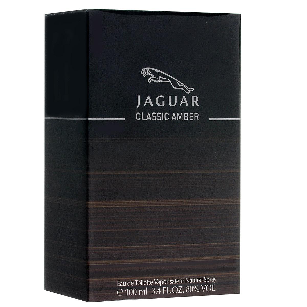 Jaguar Туалетная вода Classic Amber, мужская, 100 мл350012811068Аромат Classic Amber от Jaguar - настоящая мужская элегантность, заключенная во флаконе. Так же, как автомобили Jaguar, не зависимо от времени, аромат подчеркивает тот же стиль и изысканность. Парфюмер - Доминик Прейсса.Классификация аромата: фужерный, восточный.Пирамида аромата:Верхние ноты: мандарин, грейпфрут, петитгрейн, розовый перец.Ноты сердца: корица, смола элеми, пряный черный перец, флердоранж, яблоко.Ноты шлейфа: кедр, ветивер, ладан, ваниль, кожаный нюанс, мускус. Ключевые слова Мужественный, загадочный, чувственный! Туалетная вода - один из самых популярных видов парфюмерной продукции. Туалетная вода содержит 4-10%парфюмерного экстракта. Главные достоинства данного типа продукции заключаются в доступной цене, разнообразии форматов (как правило, 30, 50, 75, 100 мл), удобстве использования (чаще всего - спрей). Идеальна для дневного использования. Товар сертифицирован.