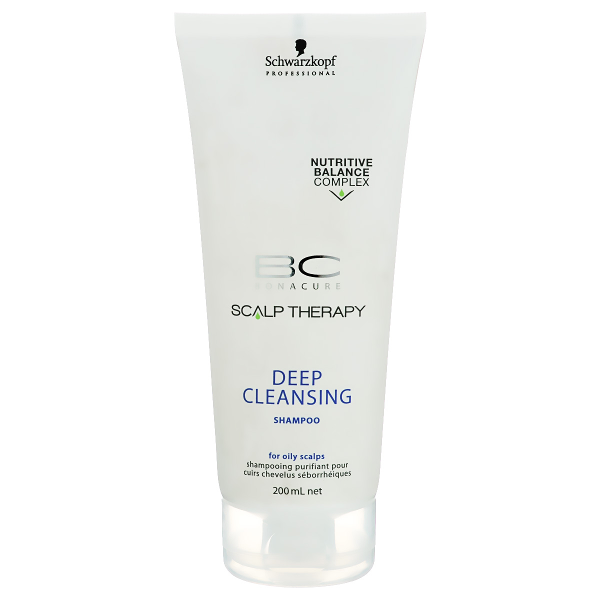 Bonacure Шампунь для глубокого очищения Scalp Therapy Deep Cleansing Shampoo 200 мл81601097Очищающий шампунь для всех типов волос, выглядящих маслянистыми и для жирной кожи головы. Поверхностно - активные вещества, полученные из кокоса мягко, но эффективно очищает кожу головы. Благодаря ментолу шампунь оставляет ощущение чистоты и свежести. Пантенол поддерживает необходимый баланс влаги.