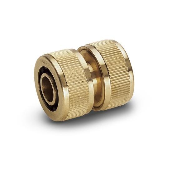Муфта латунная Karcher ремонтная, 3/4 2.645-103.0А00319Муфта ремонтная Karcher предназначена для соединения шлангов 3/4. Выполнена из латуни. Быстрое соединение шланга в случае повреждения, разрыва, удлинения.
