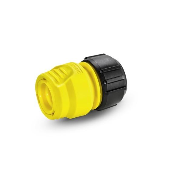 Коннектор универсальный Karcher, 1/2 - 5/8 - 3/4. 2.645-191.02.645-191.0Универсальная муфта Karcher предназначена для соединения шлангов между собой, а также для ремонта. Коннектор совместим со всеми стандартными шлангами. Выполнен из пластика.