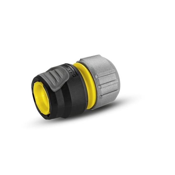 Коннектор универсальный Karcher Premium 2.645-195.02.645-195.0Универсальная муфта Karcher Premium предназначена для соединения шлангов между собой, а также для их ремонта. Коннектор совместим со всеми стандартными шлангами. Выполнен из пластика.