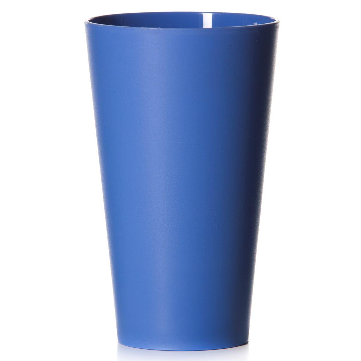 Стакан House & Holder, цвет: синий, 570 млVT-1520(SR)Стакан House & Holder изготовлен из прочного высококачественного полипропилена. Изделие предназначено для воды, сока и других напитков. Стакан сочетает в себе яркий дизайн и функциональность. Благодаря такому стакану пить напитки будет еще вкуснее.Стакан House & Holder можно использовать дома, на даче или на пикнике. Можно использовать в посудомоечной машине и микроволновой печи.Диаметр стакана по верхнему краю: 9 см. Высота стакана: 15 см. Диаметр основания: 6 см.