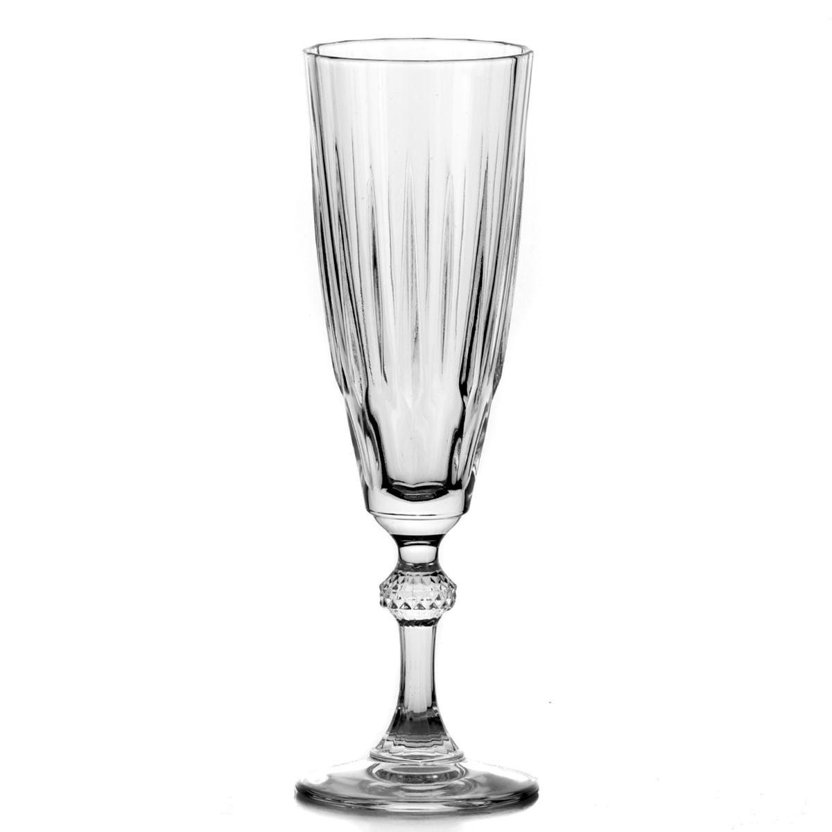 Набор бокалов Pasabahce Diamond, 170 мл, 3 штVT-1520(SR)Набор Pasabahce Diamond состоит из трех граненых бокалов, выполненных из натрий-кальций-силикатного стекла. Изделия оснащены элегантными ножками. Бокалы сочетают в себе изысканный дизайн и функциональность. Благодаря такому набору пить напитки будет еще вкуснее.Набор бокалов Pasabahce Diamond прекрасно оформит праздничный стол и создаст приятную атмосферу за романтическим ужином. Такой набор также станет хорошим подарком к любому случаю. Можно мыть в посудомоечной машине.Диаметр бокала (по верхнему краю): 6 см. Высота бокала: 21 см.