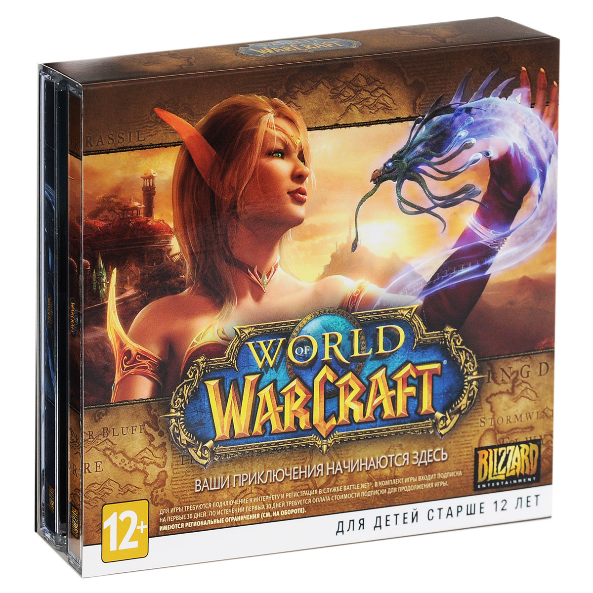 World of Warcraft Gold 30 дней (Jewel, 2 DVD)