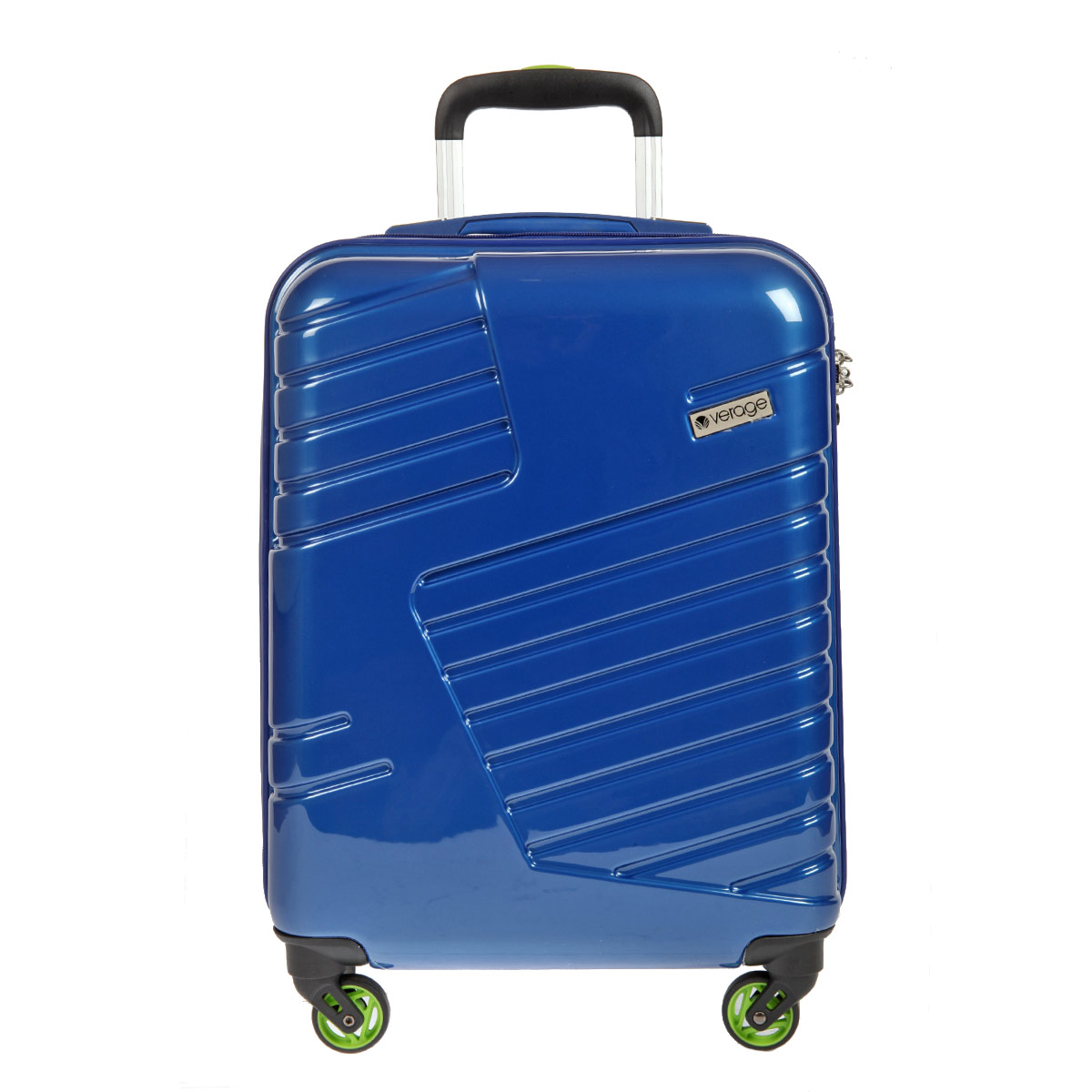 Чемодан-тележка Verage, цвет: синий, 31 л. GM14042w 20ГризлиЧемодан-тележка Verage оснащен четырьмя колесиками, вращающимися на 360°. Закрывается по периметру на двухстороннюю молнию. Верхняя и боковая ручки обеспечивают удобство транспортировки. Внутри два отдела для одежды, которая фиксируется эластичными резинками на застежках. Также внутри расположен один сетчатый карман на застежке-молнии. Встроенный кодовый замок с функцией TSA. Чемодан оснащен выдвижной ручкой, максимальная высота которой 57 см.