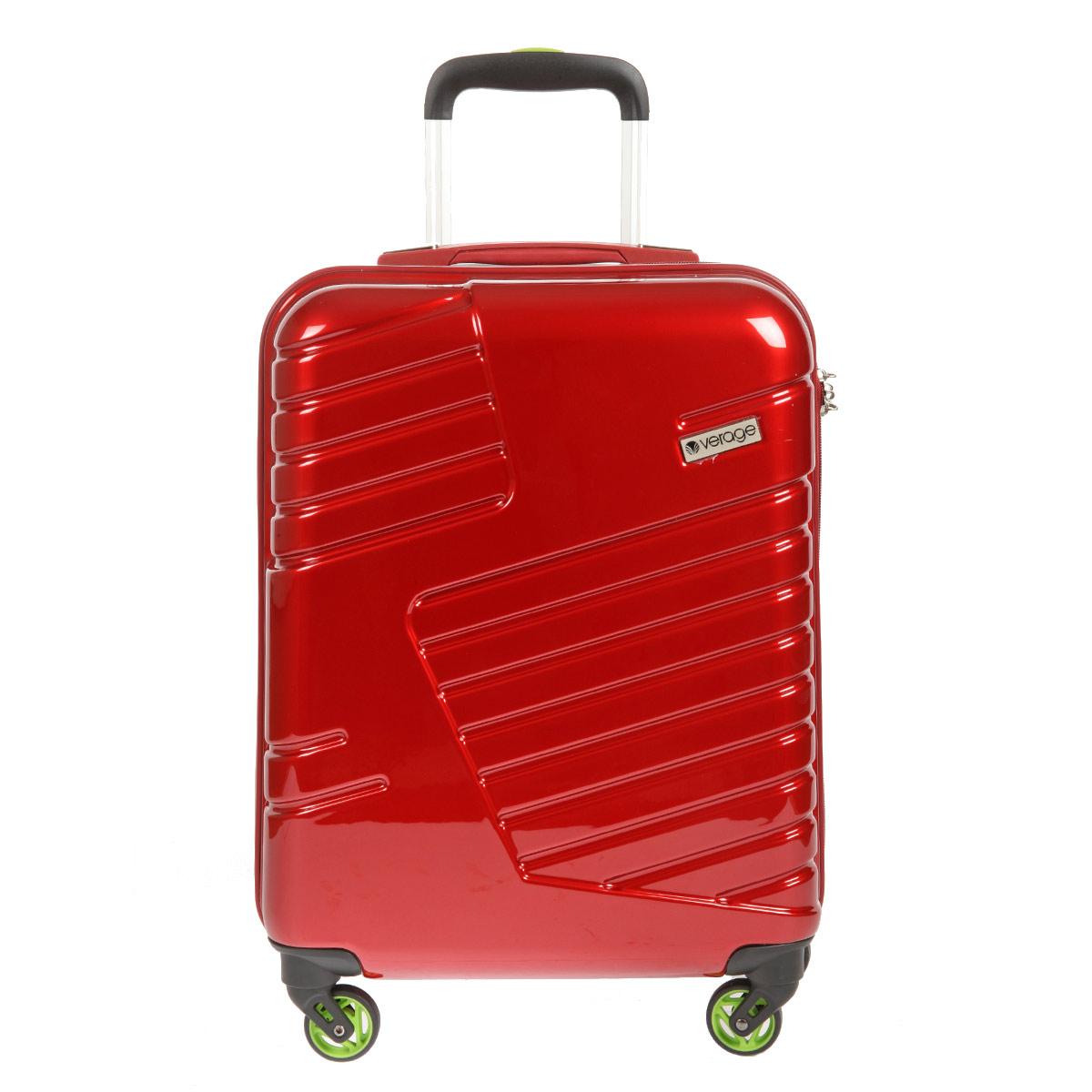 Чемодан-тележка Verage, цвет: красный, 31 л. GM14042w 20Костюм Охотник-Штурм: куртка, брюкиЧемодан-тележка Verage оснащен четырьмя колесиками, вращающимися на 360°. Закрывается по периметру на двухстороннюю молнию. Верхняя и боковая ручки обеспечивают удобство транспортировки. Внутри два отдела для одежды, которые фиксируются эластичными резинками на застежках. Также внутри расположен один сетчатый карман на застежке-молнии. Встроенный кодовый замок с функцией TSA. Чемодан оснащен выдвижной ручкой, максимальная высота которой 57 см.