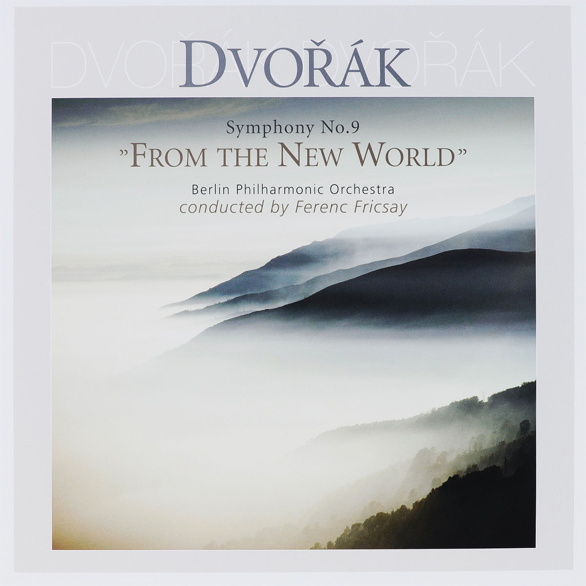 Ференц Фриксэй,Berliner Philharmoniker Ferenc Fricsay. Antonon Dvorak. Symphony № 9 From The New World (LP) бхагаван шри раджниш ошо eneseaustuse vägi virgumine teadlikkusesse
