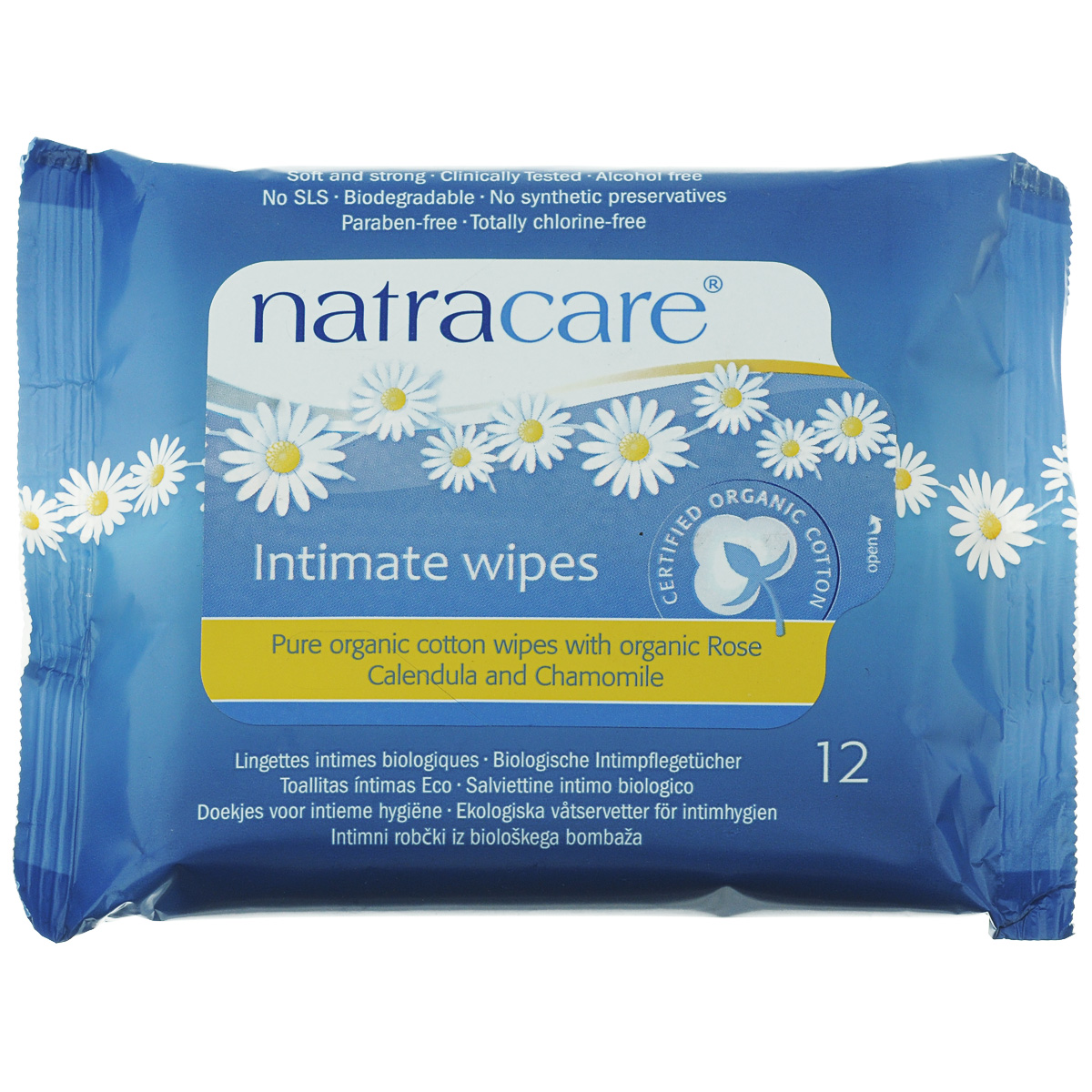 Влажные очищающие салфетки Natracare Organic Cotton для интимной гигиены, 12 штSatin Hair 7 BR730MNВлажные очищающие салфетки Natracare Organic Cotton предназначены для ежедневной интимной гигиены, будут необходимы во время путешествий.Салфетки, обогащенные Био эфирными маслами, изготовлены из 100% Био-хлопка, не содержат вредные ингредиенты, не отбелены хлором, и полностью разлагаются после применения. Мягкие, прочные и клинически протестированные салфетки Natracare Organic Cotton очищают и освежают, оставляя кожу мягкой. Характеристики: Состав: 100% БИО-хлопок, эфирные масла Био-ромашки и Био-календулы, глицерин. Количество салфеток: 12 шт. Размер упаковки: 14 см х 10,5 см х 2 см. Производитель: Великобритания. Изготовитель: Греция. Артикул: 782126200150. Товар сертифицирован. Компания Bodywise была создана в Великобритании в 1989 году. На сегодняшний день она имеет представительства более чем в 40 странах мира.Компания Bodywise предлагает экологически чистые гигиенические средства для женщин.Серия Natracare представляет более 20 наименований средств персональной гигиены высокого качества. Женские гигиенические средства Natracare были созданы Сюзи Хьюсон в 1989 году в результате обеспокоенности разрушающим эффектом, который оказывает загрязнение диоксинами на здоровье женщин. На сегодняшний день разработан большой диапазон по-настоящему био и натуральных продуктов для женщин и детей. Продукция Natracare является продукцией, рекомендованной врачами-гинекологами.