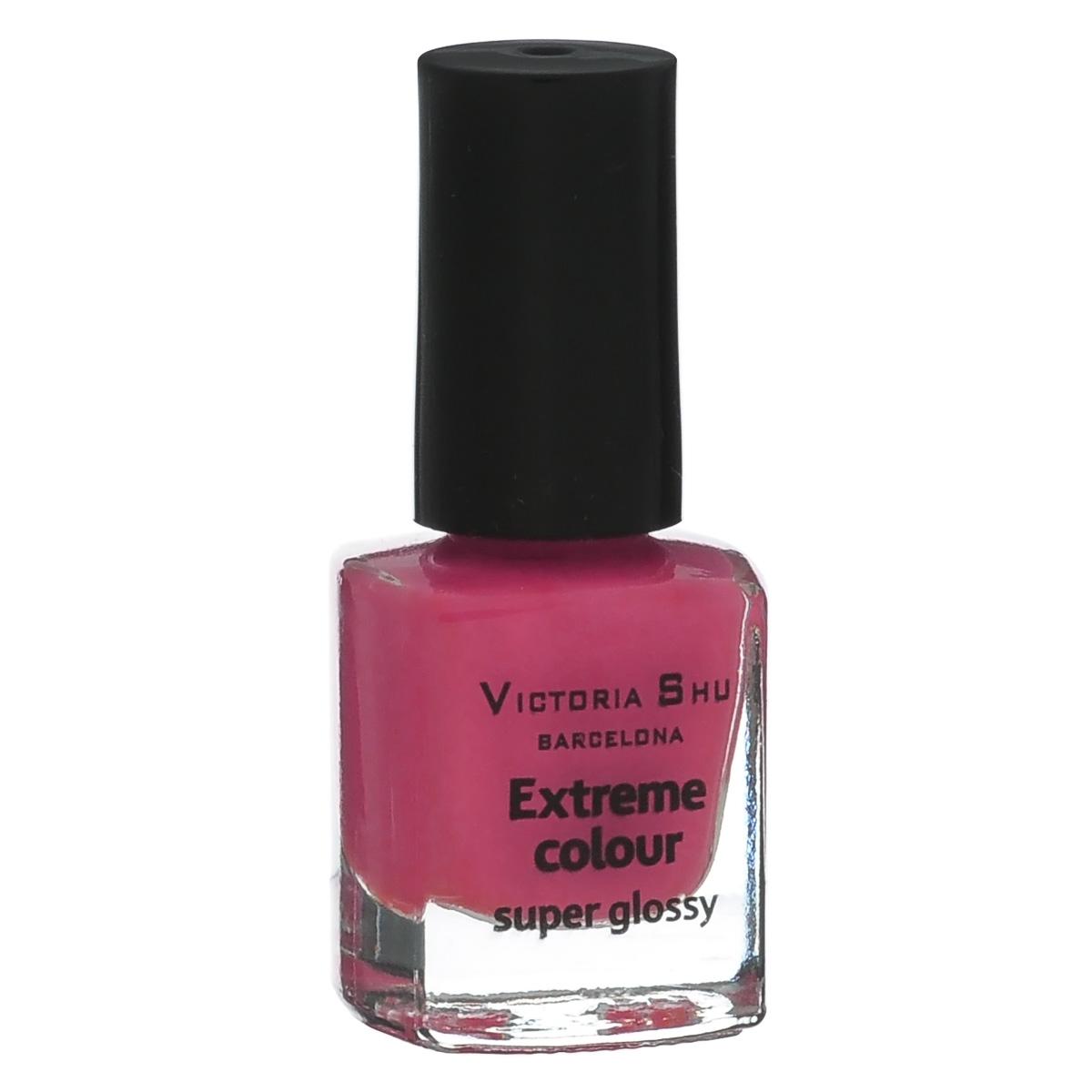 Victoria Shu Лак для ногтей Extreme Colour, тон № 251, 6 мл5010777139655EXTREME COLOUR от VICTORIA SHU – это 35 ярких, смелых, соблазнительных оттенков. Модный тренд – матовая, насыщенная текстура. Любые цвета – на любой вкус, от нежных пастельных, интенсивных супермодных оранжевых, лиловых и оттенков фуксии до сенсационных красного и черного.