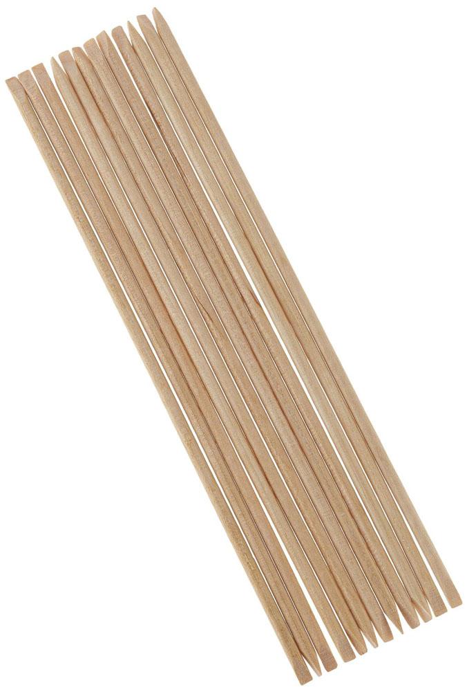Jessica Апельсиновые палочки Oranqewood Sticks (упаковка) 12 шт16-010Высококачественные палочки для маникюра из апельсинового дерева.